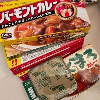 【ネット決済】カレー 未開封4箱+半分  賞味期限2021年11...