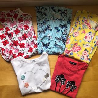 130サイズ ワンピース3枚 Tシャツ2枚