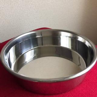 【未使用品】①犬用食器・20センチ