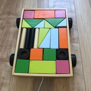 【ネット決済・配送可】IKEA 積み木