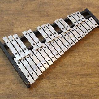 (Y)北大前! 札幌 引取 グロッケン 卓上タイプ 楽器 鍵盤打...
