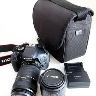 EOS KISS X5+レンズ2本+カメラバッグ