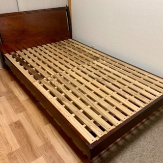 セミダブル ベッドフレーム すのこベッド