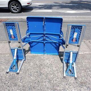 折りたたみピクニックテーブル・チェア4人用 中古 − 鳥取県