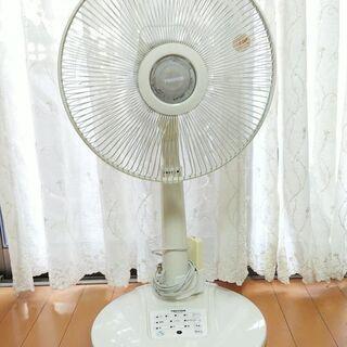 テクノス  リモコン付き扇風機