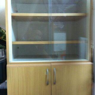 一人暮らし等にお勧め小型の食器棚