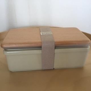 保冷機能付き弁当箱(ジェルクール/古代杉の蓋)