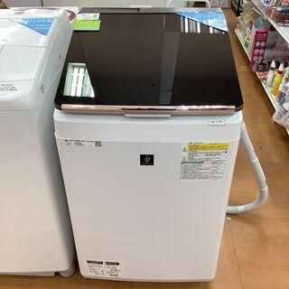 【SHARP】シャープ全自動洗濯機 2018年製 10.0…
