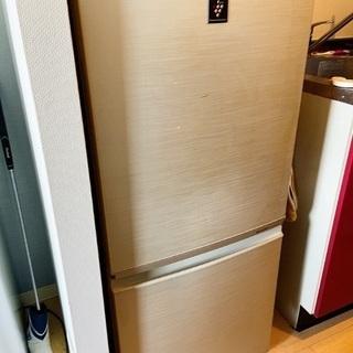単身用2ドア冷蔵庫(プラズマクラスター)