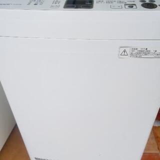 シャープ洗濯機5.5kg 2013年生別館倉庫浦添市安波茶…