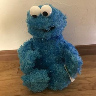 クッキーモンスター ぬいぐるみ セサミストリート