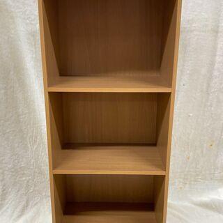 カラーボックス 3段BOX ナチュラルブラウン 富士貿易 FBC...