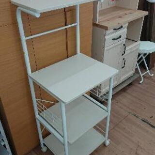 ニトリ キッチンラック キッチン収納 レンジ台 トースター台🚚自...