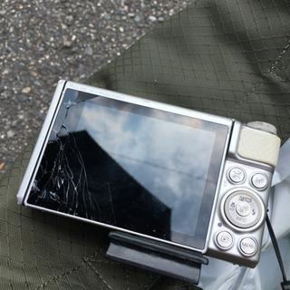 デジカメ Canon SX730HS 液晶画面破損のためヘ…