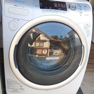 【中古】TOSHIBA ドラム式洗濯乾燥機 2010年製 …