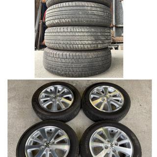 新車外し SUZUKI EVERY スズキ エブリイワゴン 最上級グレード PZターボスペシャル 純正 4.5j+50 PCD100 DUNLOP SP SPORT 230 165/60R14 - 車のパーツ