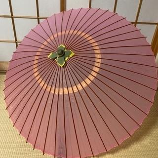 番傘 ピンク
