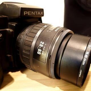 決まりました【PENTAX】SFXN オートフォーカス 一眼レフ フィルムカメラ - 家電