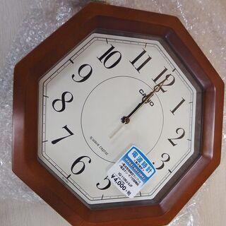 未使用 カシオ 電波時計 掛け時計