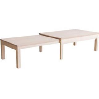アイリスプラザ 伸縮センターテーブル W100-180 R…