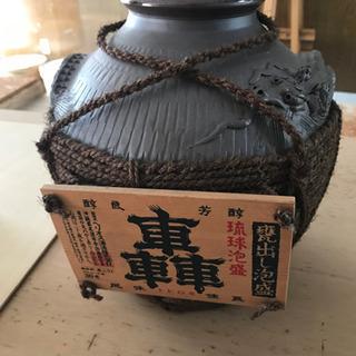 焼酎サーバー?お酒が入っていた壺の画像