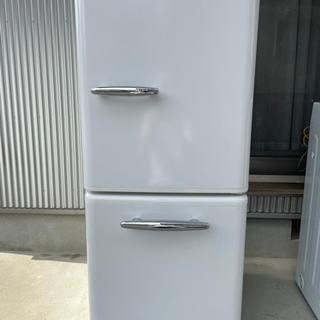 【ネット決済】e angle ノンフロン冷凍冷蔵庫 一年使用 レトロ調