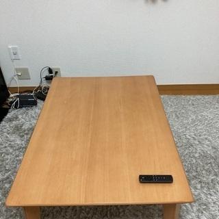 ローテーブル(炬燵にもなります)