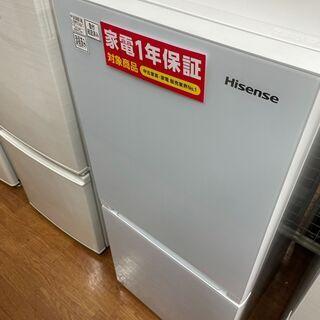 ハイセンス 2ドア冷蔵庫 HR-G13A 2019年製 1…