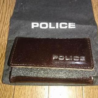《値下げしました》POLICEキーケース 新品未使用
