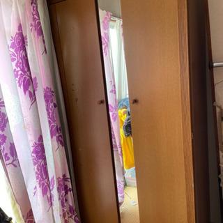【ネット決済】鏡付きクローゼット