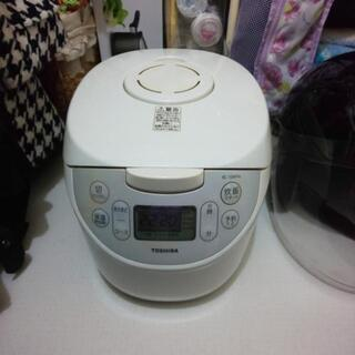 【ネット決済・配送可】炊飯器