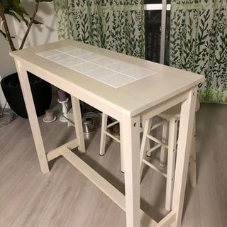 【ネット決済】カウンターテーブル 椅子次