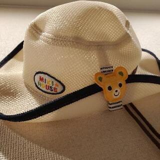 ミキハウス メッシュ帽子 50cm