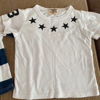 韓国子供服半袖七分袖100㎝ − 富山県