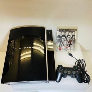 【すぐ遊べる!】PS3 本体 付属品 ソフト付き!