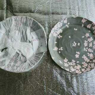 【未使用】桜舞 宇野千代 ヤマカ陶器 料理揃 蕎麦 セット  U...