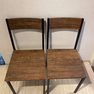 【ネット決済】椅子 二脚