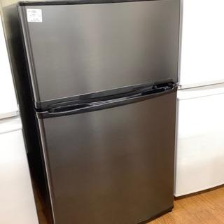 2ドア冷蔵庫 maxzen JR090Ml01GM