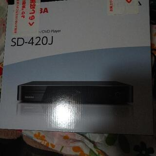 TOSHIBA DVDプレーヤーSd-420J新品美品(1年間保...