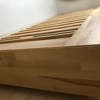 IKEAシングルベッド収納付き