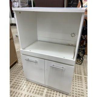 🐼ニトリ 食器棚/キッチンボード 高さ89cm 横60cm 奥4...