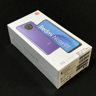 【未開封】Redmi Note 9T 5G SIMフリー