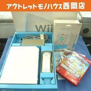 任天堂 Wii 本体 RVL-001 ソフト4本 セット 動作品...