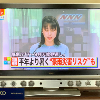 HITACHI テレビWooo 55V