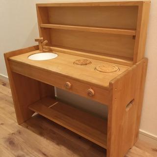 子供用キッチン 木製