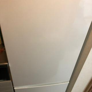 AQUA 冷蔵庫 2ドア184L容量