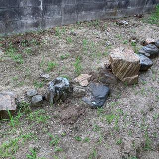 大きな石と小さな石が必要な方!