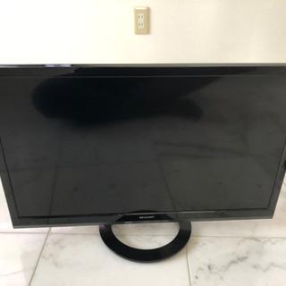 シャープAQUOS 24型テレビ