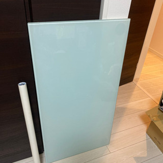 ガラステーブル 99センチ×52センチ 脚の長さ70センチ
