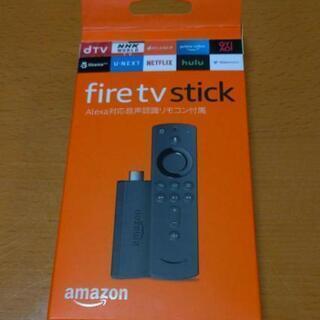 決まりました!アマゾン fireTVstick